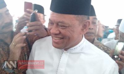 Jenderal (Purn) Gatot Nurmantyo Seusai Mengisi Acara Halal Bihalal Purnawirawan TNI Polri di Masjid At Tin, Jakarta. (Foto Dok. NUSANTARANEWS.CO).