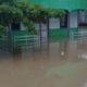 Kondisi wilayah pemukiman di Sembakung, Nunukan, Kalimantan Utara yang tergenang air akibat banjir kiriman dari Sabah-Malaysia. (FOTO: NUSANTARANEWS.CO/Eddy Santry)
