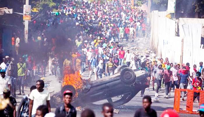 Negara Haiti menuju kehancuran