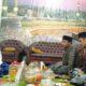Pengurus Lembaga Pendidikan Ma'arif PWNU Jateng sowan di kediaman Rais Syuriah PCNU Temanggung KH. Yacub Mubarok. (FOTO: NUSANTARANEWS.CO/Ibda)