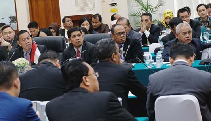 Pertemuan Perwakilan Sabah dan Kaltara membahas kerjasama di perbatasan. (FOTO: Istimewa)