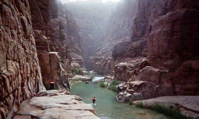 Pesona Sungai Wadi Mujib di Yordania Yang Layak Disambangi. (Foto by jitours.com)