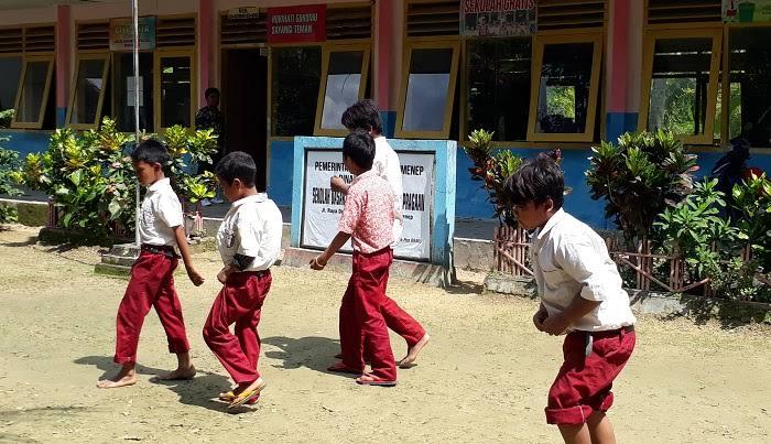 Salah Satu Kondisi Pendidikan di Pedesaan di Sumenep.  (Foto: Mahdi/NUSANTARANEWS.CO)