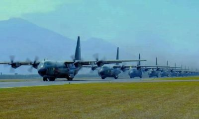 Armada Hercules TNI AU. (FOTO: Istimewa)