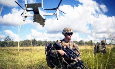 Bendung Cina, AS bangun pangkalan militer