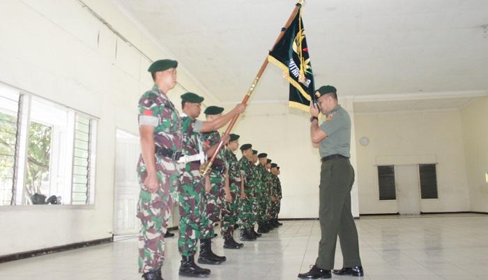 Danmenarmed 1/PY/2-Kostrad Lepas Satu Perwira Terbaik. (FOTO: NUSANTARANEWS.CO/RHB)