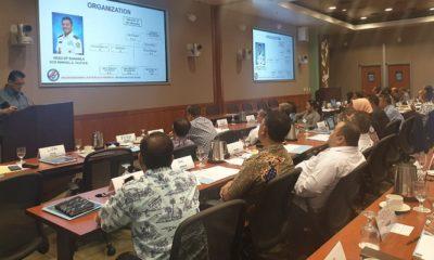 Delegasi Bakamla RI terdiri dari Deputi opslat Laksda Bakamla TSNB Hutabarat bersama Plh Direktur Kerjasama Kolonel Bakamla Salim menghadiri Maritime Share Awareness V Workshop yang diselenggarakan oleh Asia Pacific Center for Security Studies(APCSS) Honolulu, Hawai. (FOTO: Istimewa)