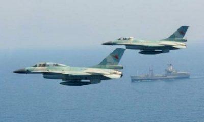 F16 TNI di Natuna. (FOTO: Istimewa)