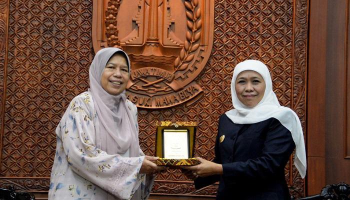 gubernur jatim, malaysia, investasi, pengolahan sampah, sampah plastik, jawa timur, nusantaranews