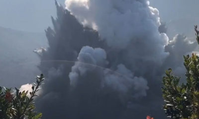 Gunung Tangkuban Parahu Erupsi Kolom Abu Capai 200 Meter. (Foto Istimewa)