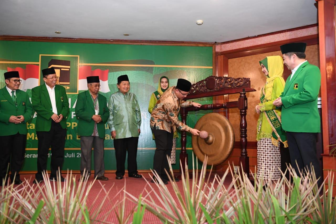 Rakernas ke-IV, PPP Usung Revitalisasi Untuk Indonesia dan Berkeadilan. (Foto untuk NUSANTARANEWS.CO)