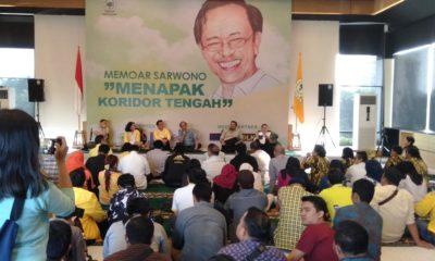 Kisah Sarwono Kusumaatmadja Saat Ditunjuk Soeharto Jadi Sekjen Golkar. (Foto: Romandhon/NUSANTARANEWS.CO)