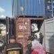 Kantor Pelayanan Umum (KPU) Bea dan Cukai Tipe Batam, Kepulauan Riau akhirnya menghentikan sementara proses impor 65 kontainer yang masuk di Pelabuhan Peti Kemas Batuampar, Batam. (DOK YUYUN/Kompas)