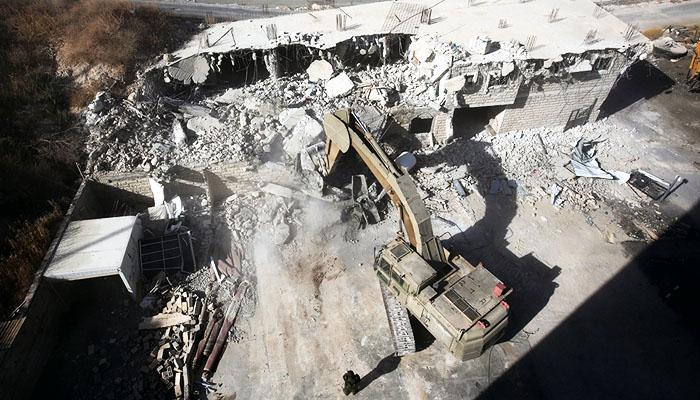 Israel mulai menghancurkan pemukiman Palestina