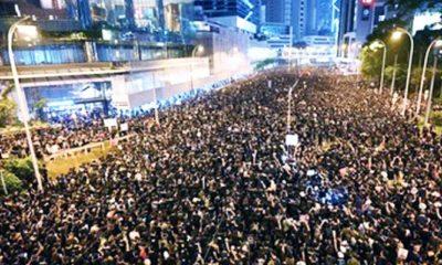 Jutaan Pengunjuk Rasa di Hong Kong