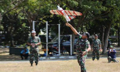 Aerial Target Drone Karya Inovatif Kapten Laut (E) Dhaesa Pramana. (FOTO: Dok. Dinas Penerangan Koarmada II)
