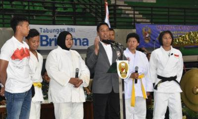 Kepala Staf Angkatan Darat (Kasad) Jenderal TNI Andika Perkasa Sebut Kejurnas Judo Kartika Cup XII Ajang Prestasi dan Gali Pengalaman. (Foto Dok. Dispenad)