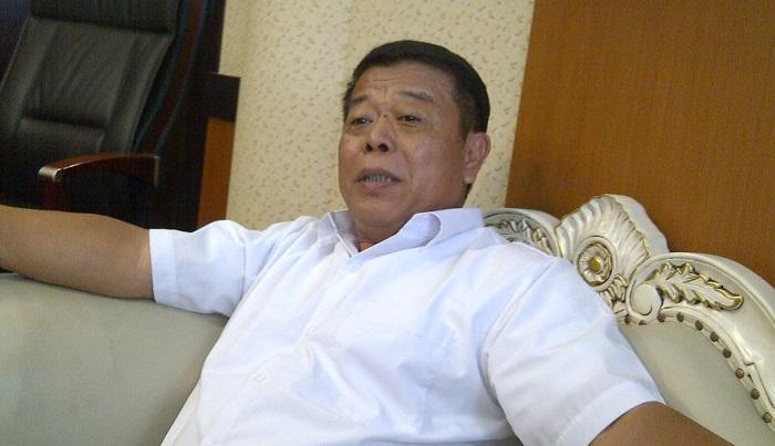 Ketua DPD PDIP Jatim Kusnadi. (FOTO: NUSANTARANEWS.CO/Setya)