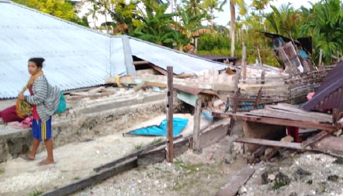 korban, gempa halmahre, butuh bantuan, tujuh jenis barang, nusantara news