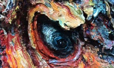 Lukisan karya Ahmad Sobirin, Mata Matahari. (FOTO: Istimewa)
