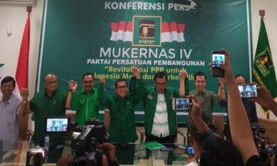 PPP Kembali Menegaskan Dukungannya ke Jokowi-Amin di Mukernas Mukernas IV. (Foto Istimewa Dok. NUSANTARANEWS.CO)