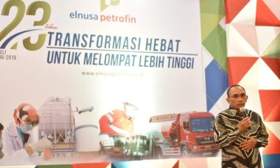 Rangkaian perayaan ulang tahun PT Elnusa Petrofin ke-23 ditutup pada Selasa (9/7) yang dihadiri oleh rekan dan holding EPN. (Foto: Istimewa)