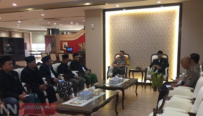 PWNU Jateng Saat Kunjungi Polda Jateng Senin 29 Juli 2019. (Foto: NUSANTARANEWS.CO/Istimewa)