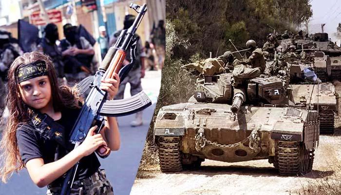Palestina dan Israel Melakukan Persiapan Perang
