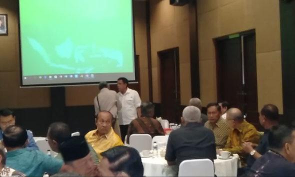 Para Purnawirawan Lintas Angkatan Berikan Jaminan Penangguhan Penahanan Kivlan Zen di Kantor PPAD. (Foto Dok. NUSANTARANEWS.CO)