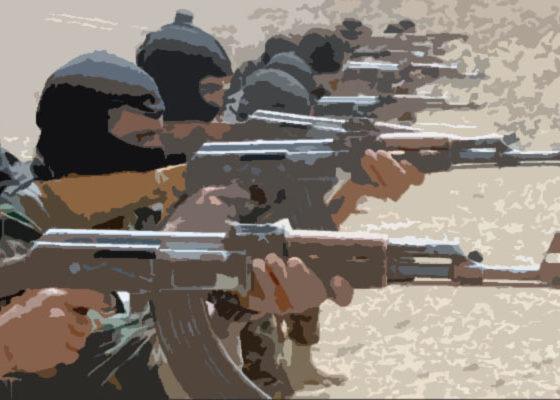 Pasukan AS mulai meningkatkan pelatihan teroris