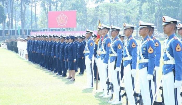 Pelantikan 169 Perwira Prajurit Karier TNI. (FOTO: Puspen TNI)
