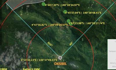 Pencarian Helikopter M-17 Melalui Jalur Udara. (Foto Dok. NUSANTARANEWS.CO)
