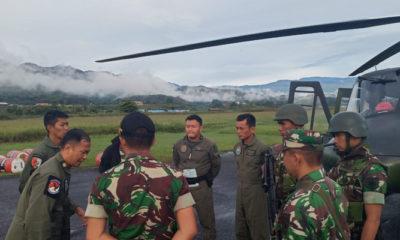 Pencarian Helikopter MI 17 Masih Belum Membuahkan Hasil. (Foto Pendam Cend untuk NUSANTARANEWS.CO)