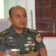 Pihak Markas Besar Angkatan Darat (Mabesad), Kolonel Inf Supriono saat mengnjungi Korem 083/Baladhika Jaya. (FOTO: NUSANTARANEWS.CO/Prasetya)
