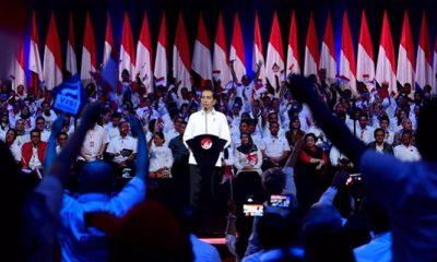 """Presiden Terpilih RI Joko Widodo saat menyampaikan Pidato """"Visi Indonesia"""". (FOTO: Dok. @jokowi)"""