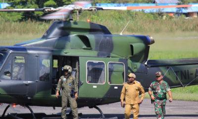 Proses Pencarian Helikopter M-17 atau Helly MI 17 hari ke-5 (Foto Pendam untuk NUSANTARANEWS)