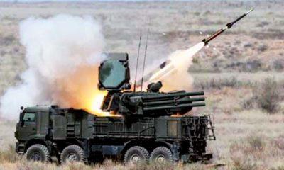 Rusia Menguji Sistem Pertahanan Udara di Krimea