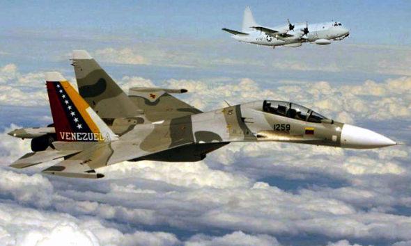 Su-30 Venezuela Usir Pesawat Pengintai