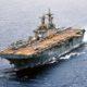 USS Boxer Tembak Jatuh Drone Iran