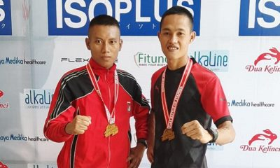 Yonif Raider 500/Sikatan Meriahkan Triathlon Surabaya 2019. (FOTO: NUSANTARANEWS.CO)