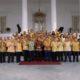 Partai Golkar nyatakan solid dukung kepemimpinan Jokowi-Ma'ruf Amin. (Foto: Setya N/NUSANTARANEWS.CO)