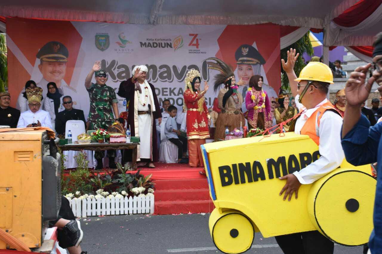 Meriahnya Karnaval Kebudayaan di Kabupaten Madiun