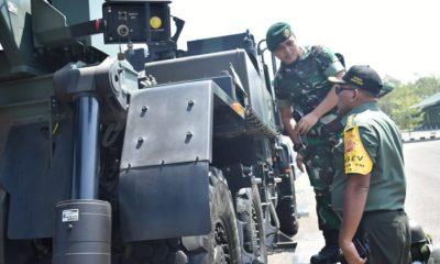 Caesar Armed 12/Divif 2-Kostrad Diperiksa Tim Wasev Itjen TNI. (FOTO: NUSANTARANEWS.CO)