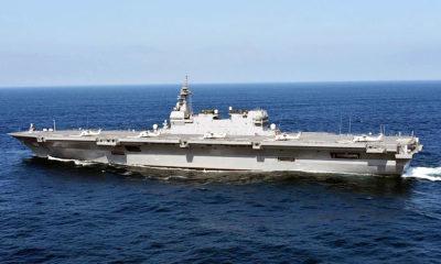 Cina menuding Izumo sebagai kapal induk jepang