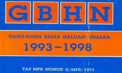 GBHN (Garis Besar Haluan Negara) (Foto Istimewa)