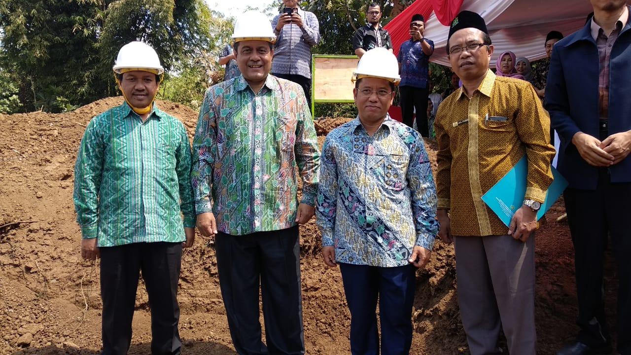 Lima Pesan Dirjen Pendidikan Islam Pada Ground Breaking Gedung FUAH IAIN Jember. (Foto Istimewa)