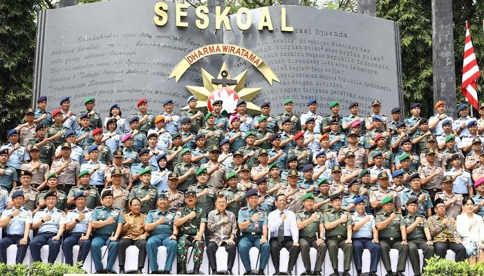 seskoal, sejarah baru, kunjungan wakil presiden, jusuf kalla, nusantaranews