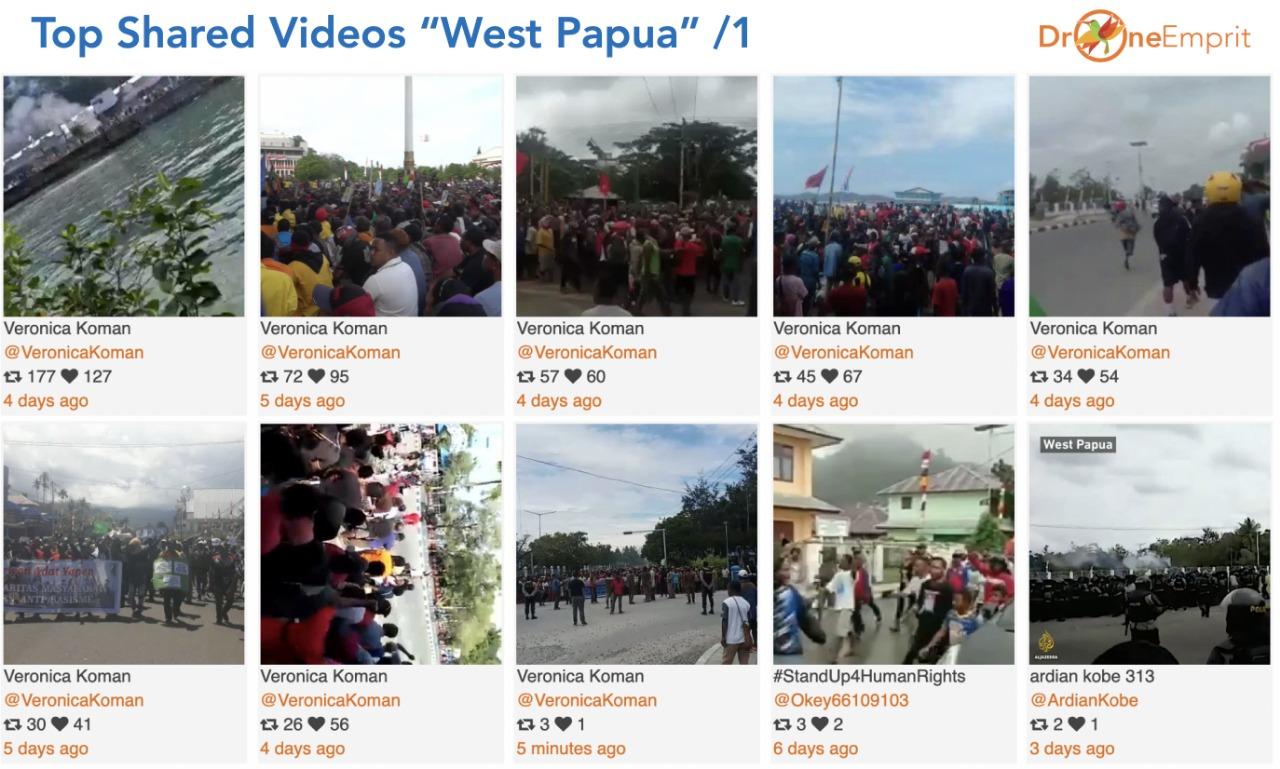 Meski Akses Internet Diblokir, Kasus West Papua Trennya Tetap Tinggi (Foto by Ismail)