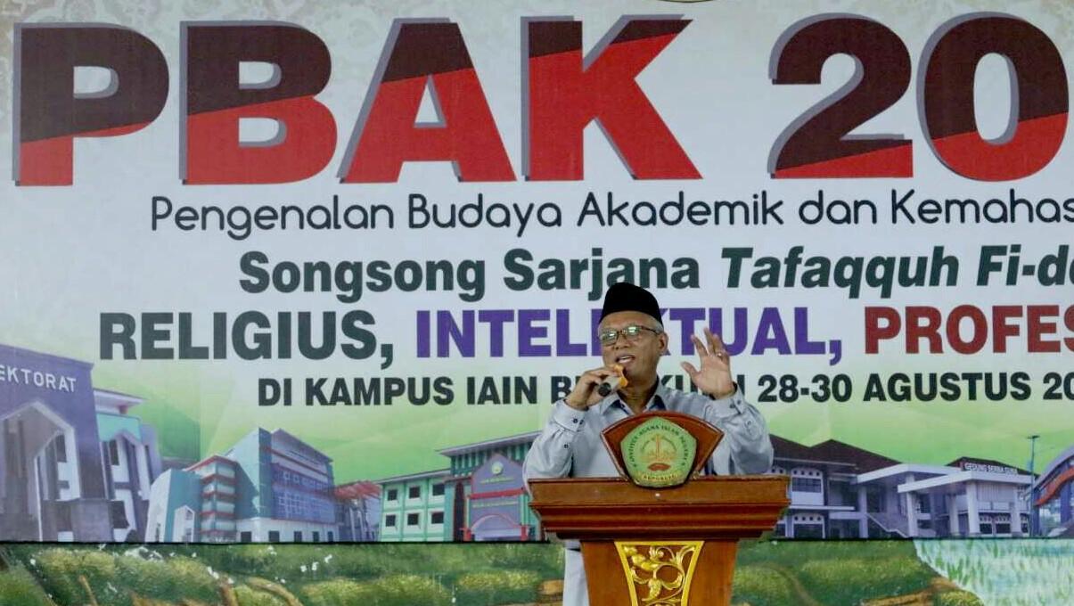 Mahasiswa, IAIN Bengkulu, soal radikalisme