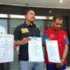 Janjikan Bisa Masuk Akpol, Pegawai MA Palsu Diringkus Polrestabes Surabaya. (FOTO: NUSANTARANEWS.CO/Setya)